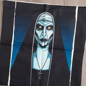 new valak the nun pillow case horror occult
